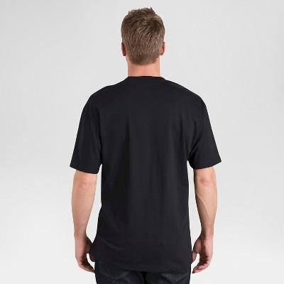 petiteDickies Men's 2 Pack Cotton Short Sleeve Pocket T-Shirt - Black M, Size: Medium