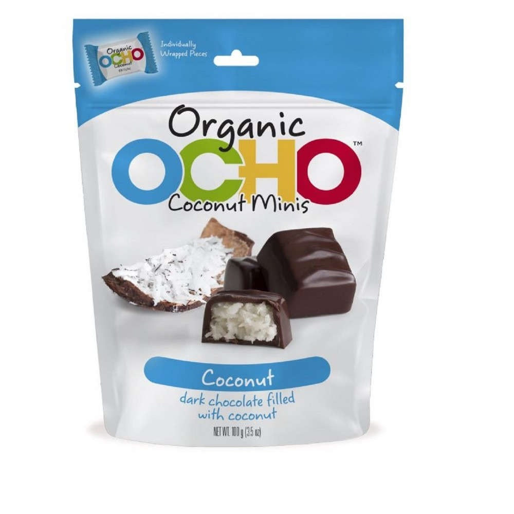 Ocho Mini Coconut Candy Bar - 3.5oz