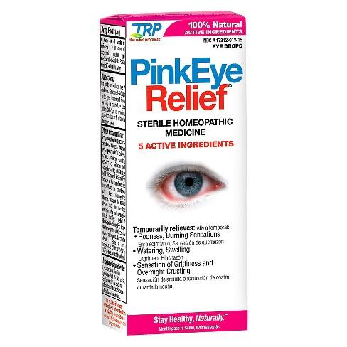 Trp Pinkeye Relief Sterile Eye Drops 33 Fl Oz Target