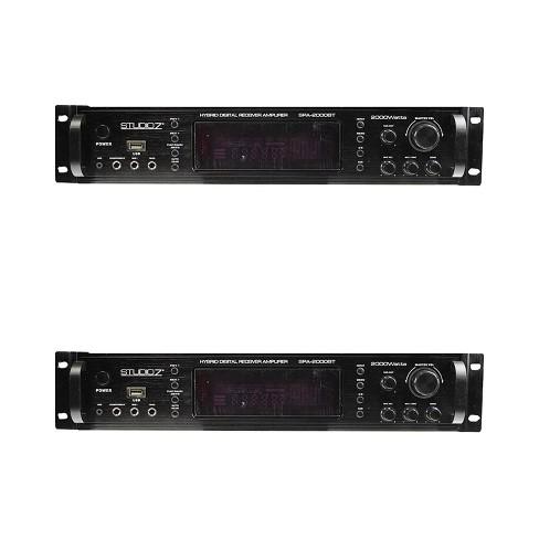 Studio Z Digital Home Audio Hybrid Radio Receiver 2 Channel Amplifier (2 Pack) - image 1 of 2