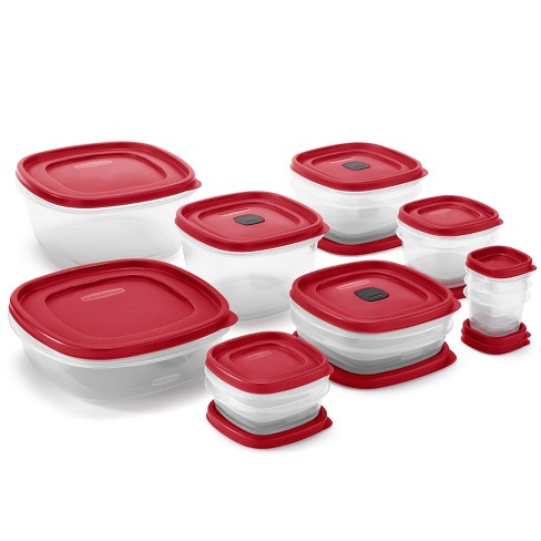 Rubbermaid 28pc Plastic Food Storage Container Set - image 1 of 2