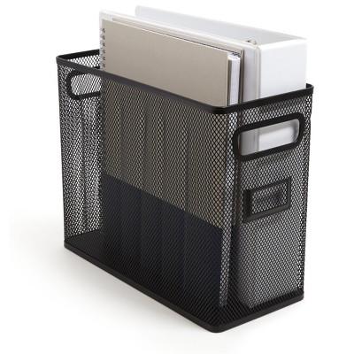 TRU RED Wire Mesh File Organizer Matte Black (TR57550) TR57550-CC