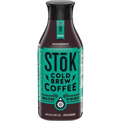 Coffee Drinks: STok Cold Brew Coffee