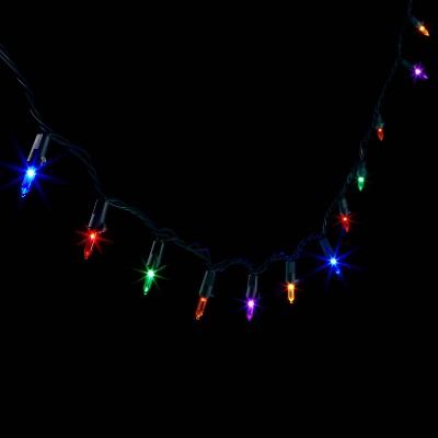 200ct Twinkle LED Smooth Mini String Lights with Green Wire - Wondershop™