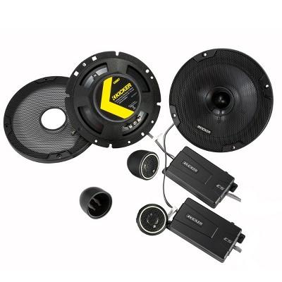 """Kicker 46CSS674 CS-Series 6-3/4"""" 2-Way Component Speakers"""