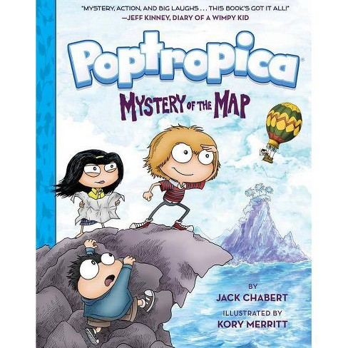 Poptropica - by  Jack Chabert (Hardcover) - image 1 of 1