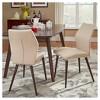 Winona Espresso Mid Century Angled Chair 2 in Set - Inspire Q® - image 3 of 3