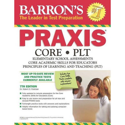 Barron's Praxis - 7 Edition by  Robert D Postman (Paperback) - image 1 of 1