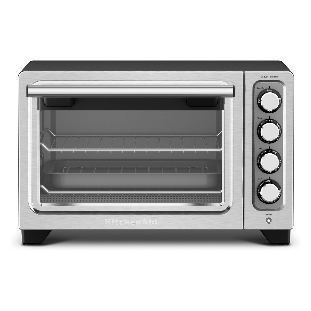KitchenAid Refurbished Compact Oven – Black RKCO253BM, Matte Black 53422447