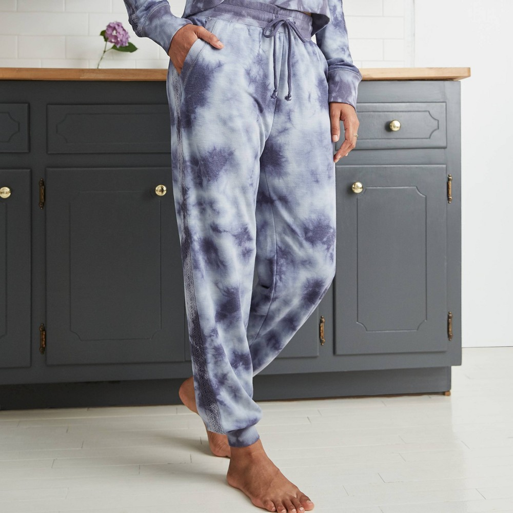 Best Women's Tie-Dye Jogger Pants - Knox Rose™ Navy