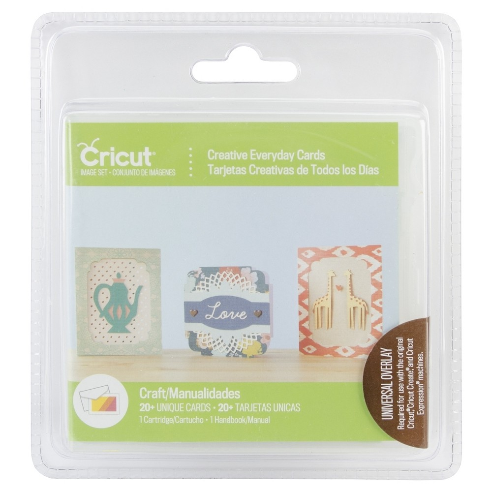 Cricut Project Cartridge- Creative Everyday Cards, Multi-Colored
