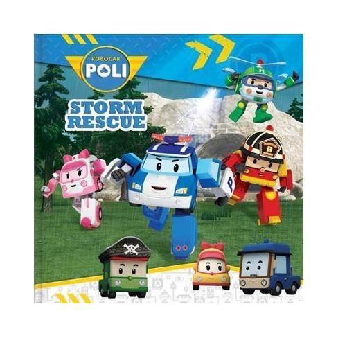 Robocar Poli: Storm Rescue - (Paperback) - image 1 of 1
