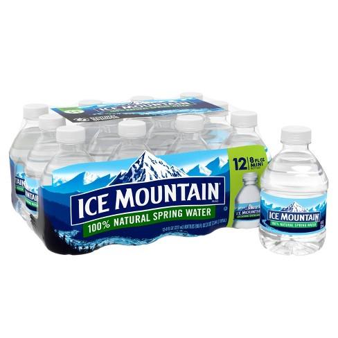 Ice Mountain Brand 100% Natural Spring Water - 12pk/8 fl oz Mini Bottles - image 1 of 4
