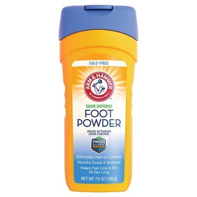 Body Powder: Arm & Hammer Odor Control Foot Powder