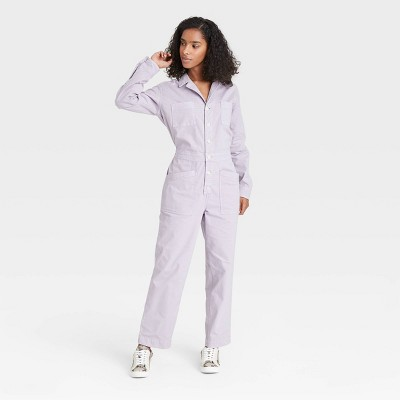 Women's Long Sleeve Collared Boilersuit - Universal Thread™
