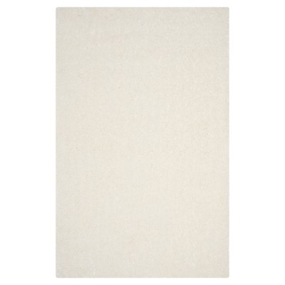 2'x3' Plymouth Solid Tufted Accent Rug Ivory - Safavieh