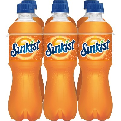 Sunkist Orange Soda - 6pk/16 fl oz Bottles