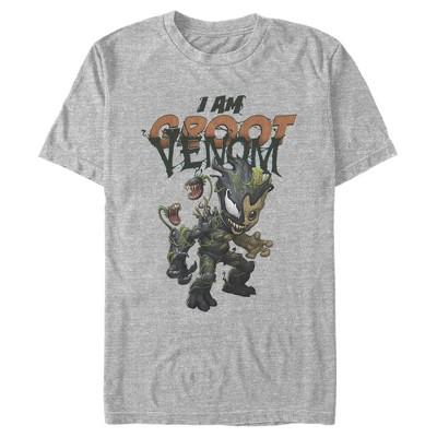 Men's Marvel I Am Groot Infected Venom T-Shirt