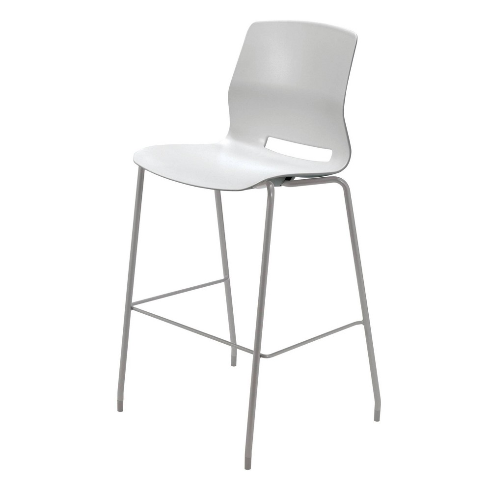 "Image of ""30"""" Lola Stacking Office Stool Light Gray - Olio Designs"""