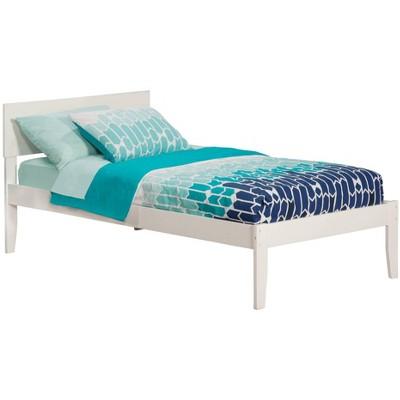 Atlantic Furniture Orlando Twin Bed in White