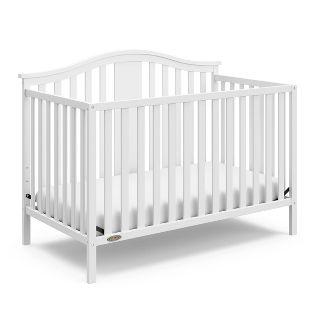 Graco Solano 4-in-1 Convertible Crib - White