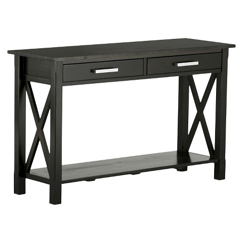 Kitchener Console Sofa Table - Simpli Home - image 1 of 7