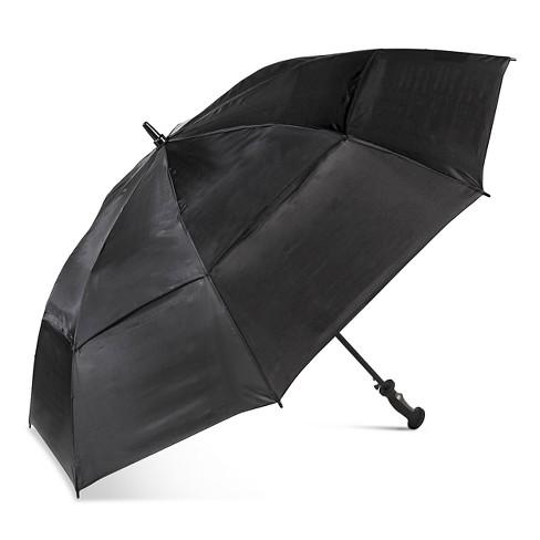 ShedRain Air Vent Golf Umbrella  - Black - image 1 of 2