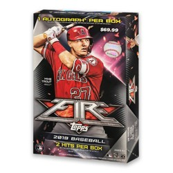 2019 MLB Fire Baseball Trading Card Hobby Box