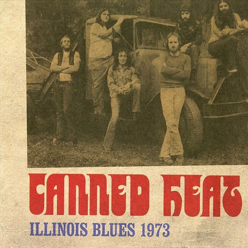 Canned heat - Illinois blues 1973 (Vinyl) - image 1 of 1