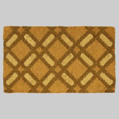 18  x 30  Basket Lattice Outdoor Doormat - Threshold™