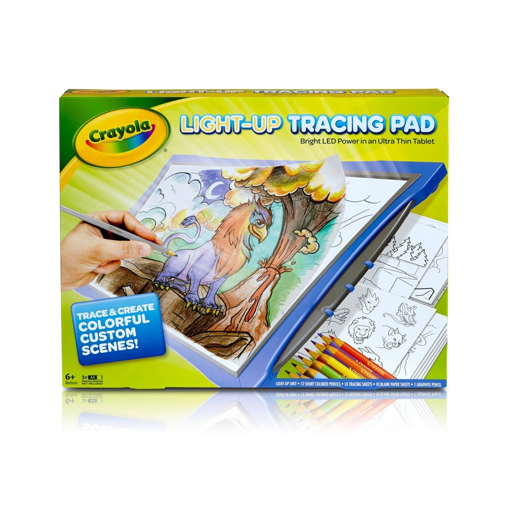 Crayola Light Up Tracing Pad Teal Now $11.00 (Was $24.99)
