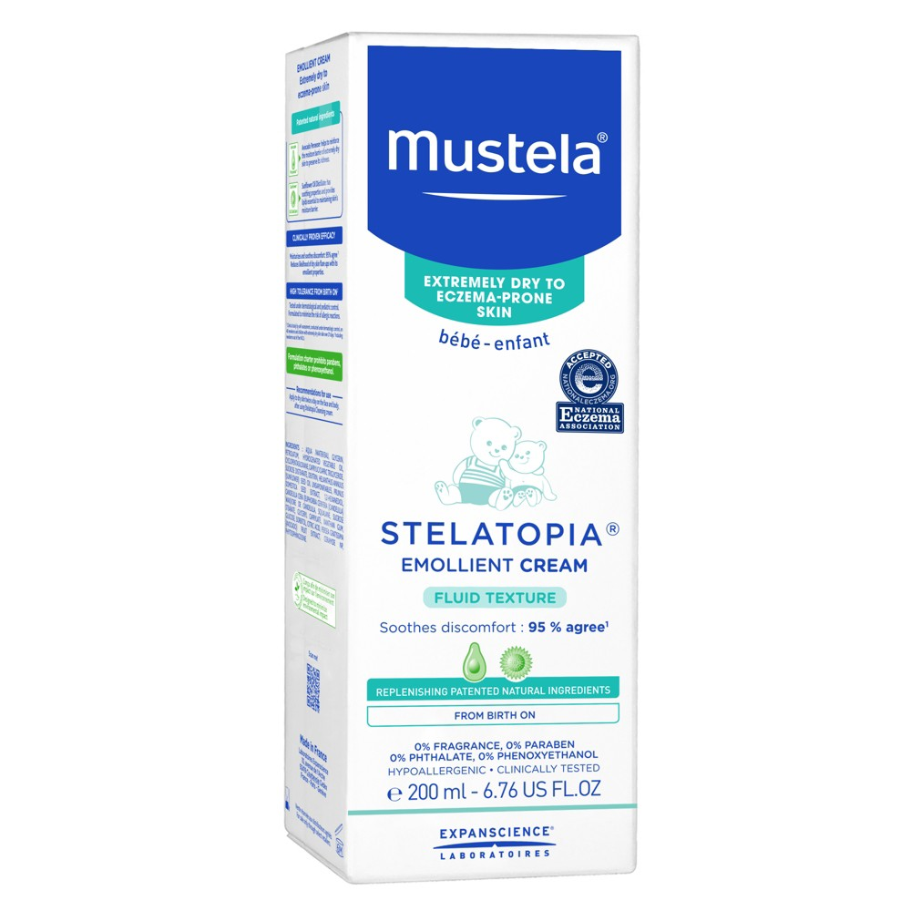 Mustela Stelatopia Emollient Cream - 6.76oz