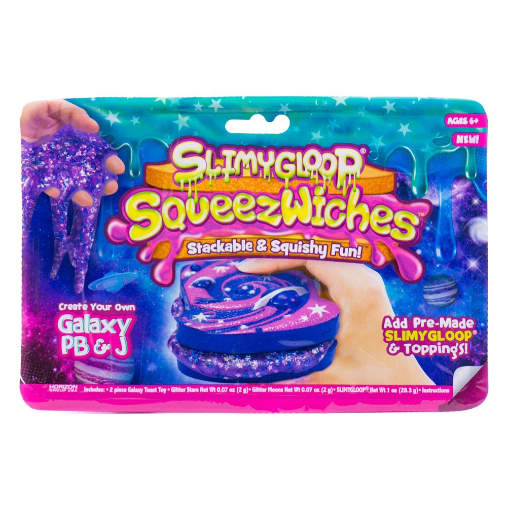 Image of SLIMYGLOOP SqueezWiches Galaxy PB&J