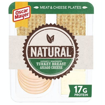 Oscar Mayer Natural Plate - Turkey and Asiago Cheese - 3.3oz