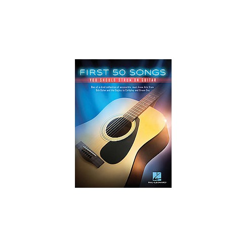 First 50 Songs You Should Strum on Guitar (Paperback) : Target