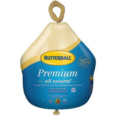 Butterball Premium All Natural Young Turkey - Frozen - 10-16lbs - price per lb