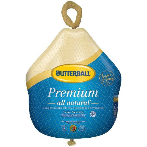Butterball Premium All Natural Young Turkey - Frozen - 16-20lbs - price per lb - image 1 of 4