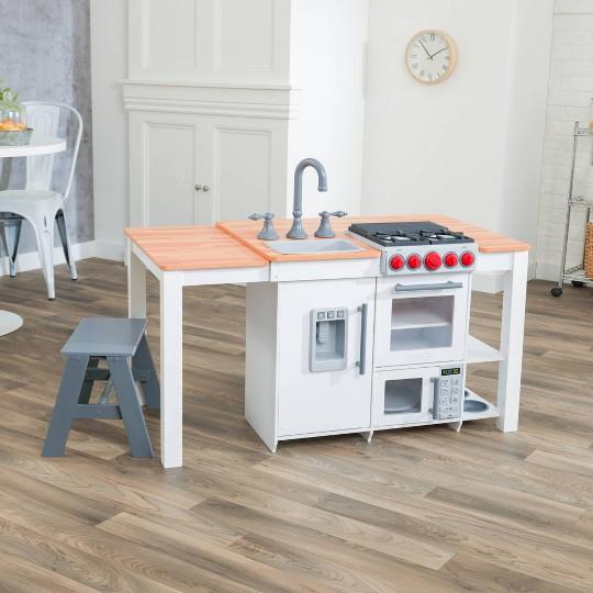 KidKraft Chefs Create N Play Island Kitchen - White image number null