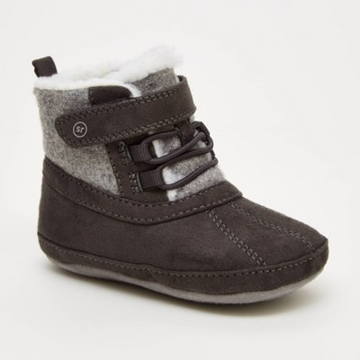 Baby Boys' Surprize by Stride Rite Boots - Gray 6-12M
