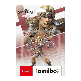 Nintendo Super Smash Bros. amiibo Figure - Simon