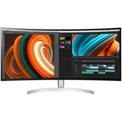 "LG Ultrawide 34BK95C-W 34"" UW-QHD Curved Screen LCD Monitor - 21:9 - White - In-plane Switching (IPS) Technology - 3440 x 1440 - 1.07 Billion Colors"