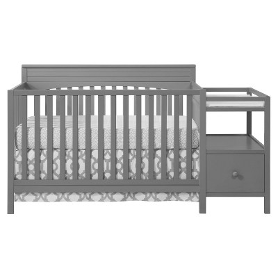 Oxford Baby Harper 4-in-1 Convertible Crib and Changer Combo