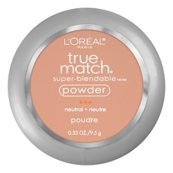 L'Oreal Paris True Match Makeup Super Blendable Oil-Free Pressed Powder - 0.33oz