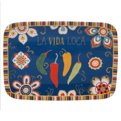 14  x 10  Earthenware La Vida Serving Platter - Certified International