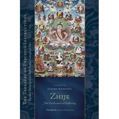 Zhije: The Pacification of Suffering - (Treasury of Precious Instructions) (Hardcover) - image 1 of 1