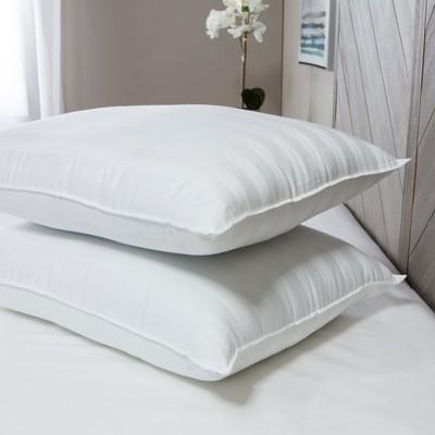 SensorPEDIC Classic Cotton MemoryLOFT Bed Pillow 2 Pack