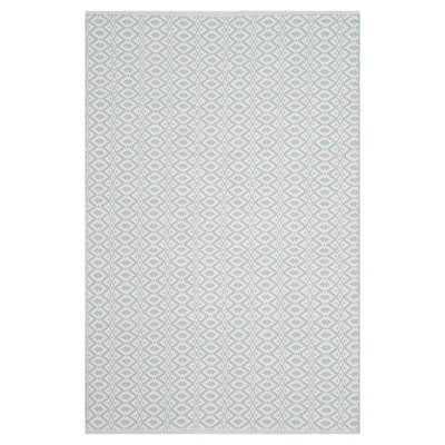 Kalina Flatweave Area Rug - Ivory / Light Blue (4' X 6')- Safavieh®