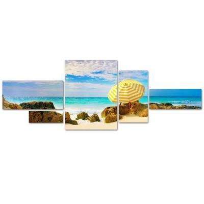 5pc Bermuda Umbrella by Preston - Trademark Fine Art