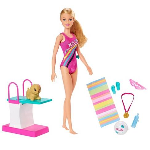 Barbie Dreamhouse Adventures Swim 'n Dive Doll - image 1 of 4
