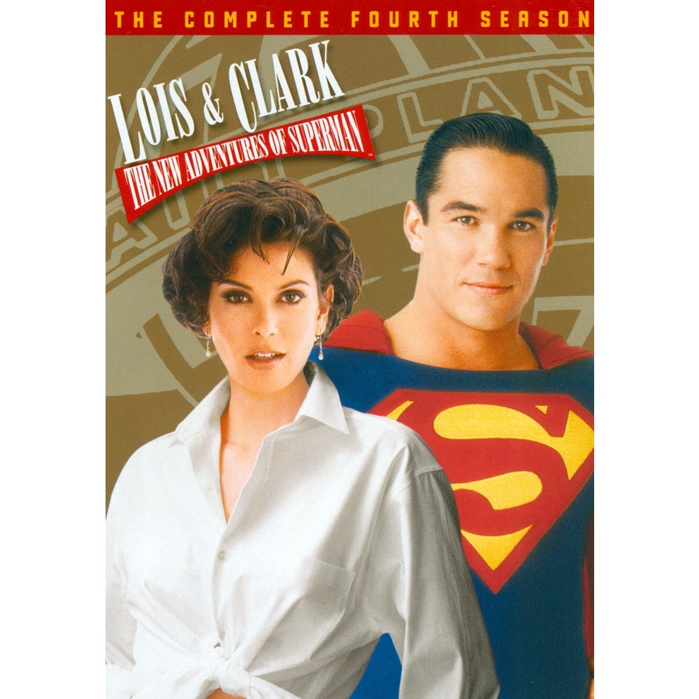 Lois & clark:Complete fourth season (Dvd)